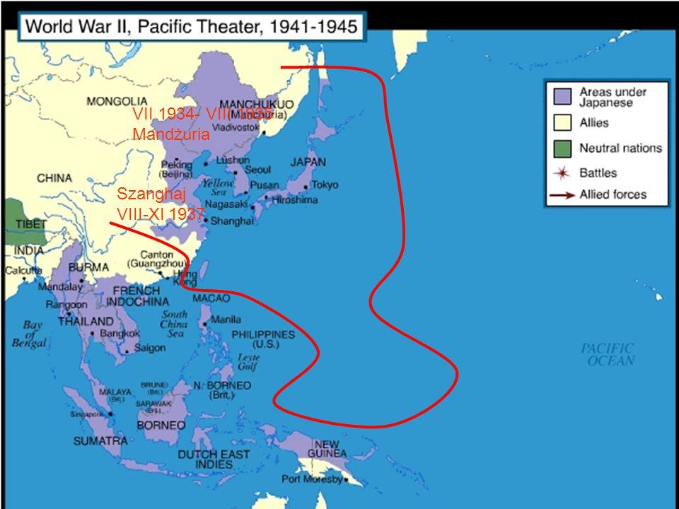 Przyczyny ataku Japonii na USA - zniszczenie floty USA stacjonującej w Pearl Harbour, a w szczególności lotniskowców - pakt o nieagresji z ZSSR, zajętym wojną z III Rzeszą - zdobycie surowców w strefie Pacyfiku