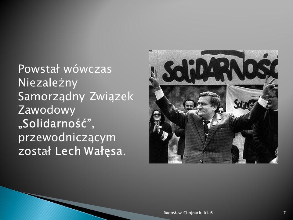13 grudnia 1981 roku generał Wojciech Jaruzelski wprowadził stan wojenny.