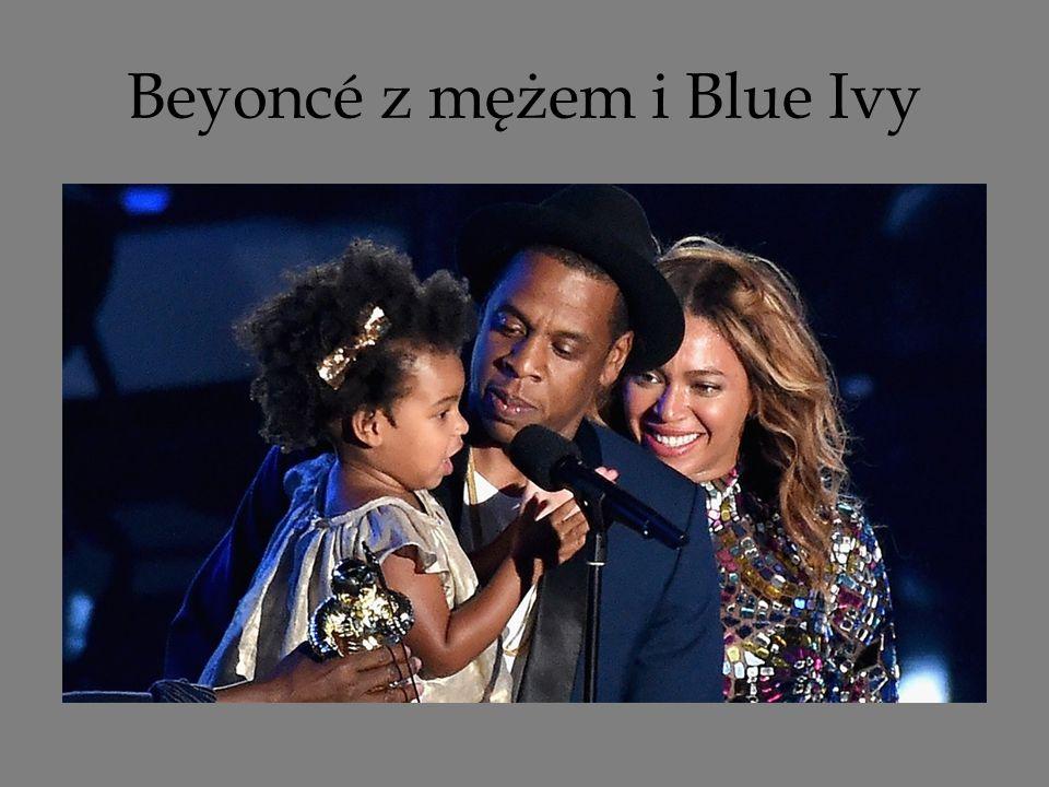 Beyoncé z mężem i Blue Ivy