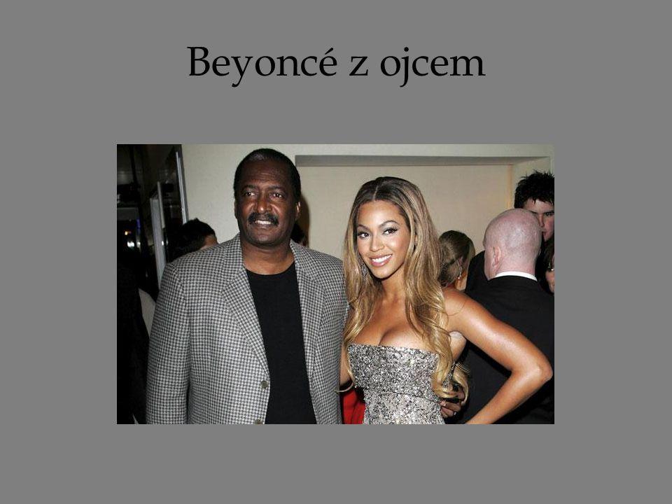 Beyoncé z ojcem