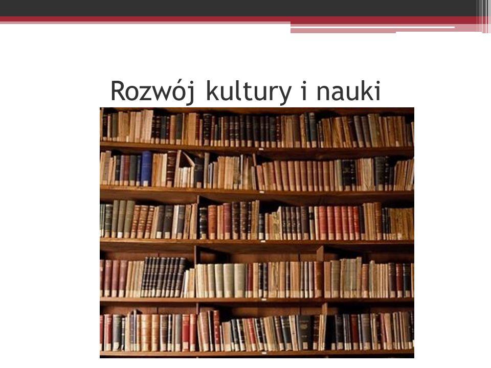 Rozwój kultury i nauki