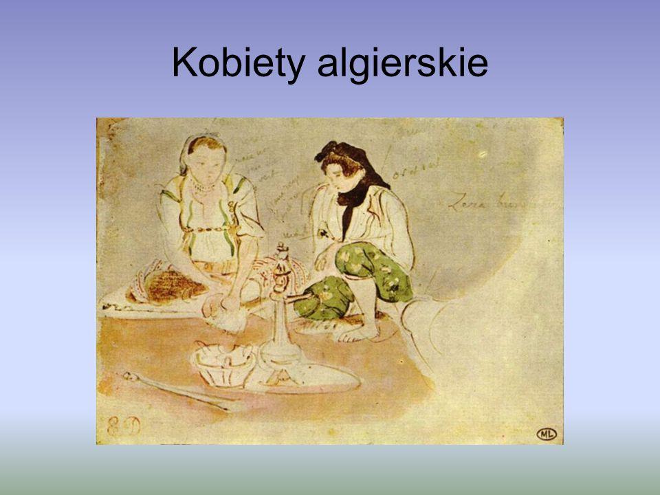 Na początku 1832 roku Delacroix odwiedził Afrykę Północną w świcie Ambasadora Francji do Sułtana Maroka, a także Algierię i Hiszpanię.
