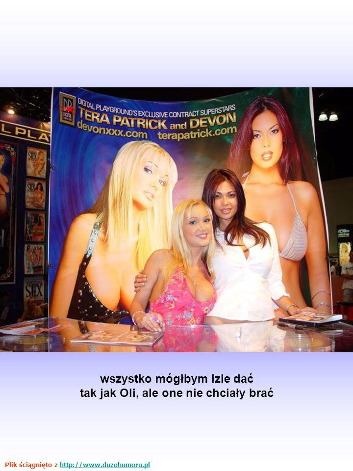 wszystko mógłbym Izie dać tak jak Oli, ale one nie chciały brać Plik ściągnięto z http://www.duzohumoru.plhttp://www.duzohumoru.pl