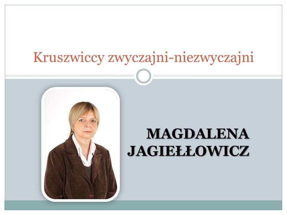 Informacje ogólne Pani Magdalena Jagiełłowicz z wykształcenia jest magistrem filologii polskiej i logopedą.