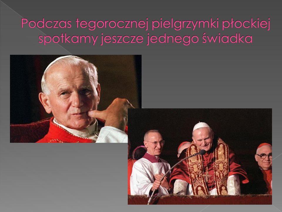 Św. Jan Paweł II łączy w sobie świadka Jezusa i pielgrzyma