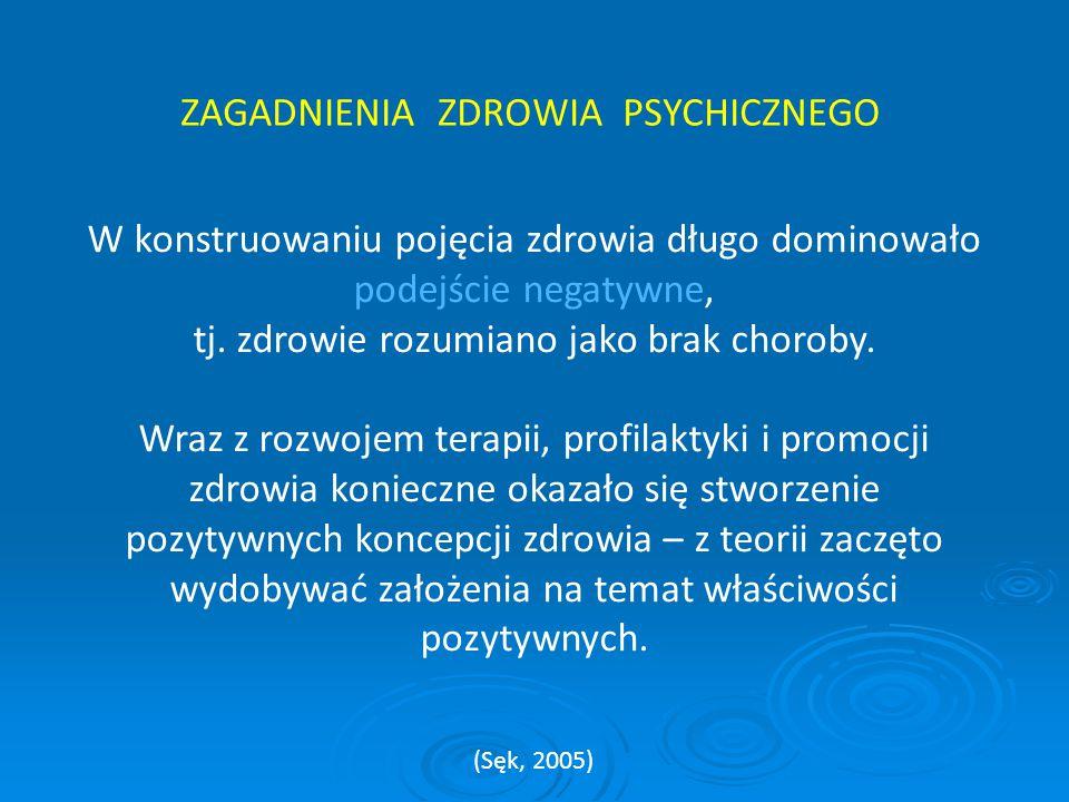  Podręcznik Diagnostyczny i Statystyczny Zaburzeń Psychicznych (Diagnostic and Statistical Manual of Mental Disosders – DSM- IV TR) z 2000r.