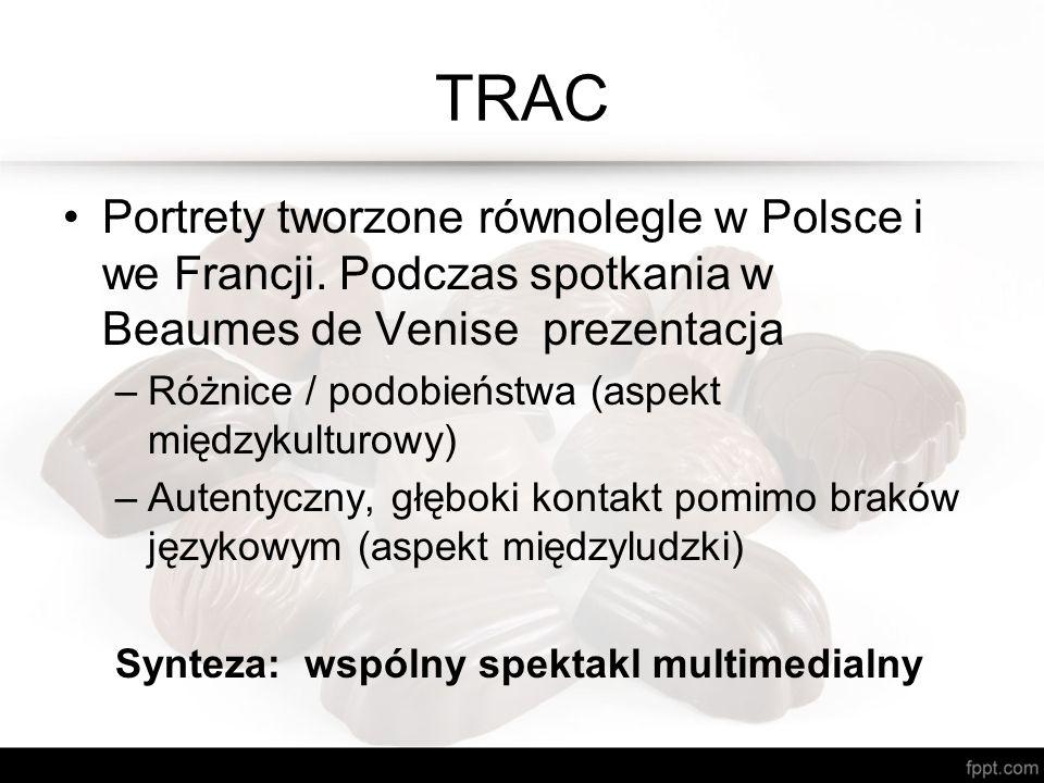 TRAC Portrety tworzone równolegle w Polsce i we Francji.