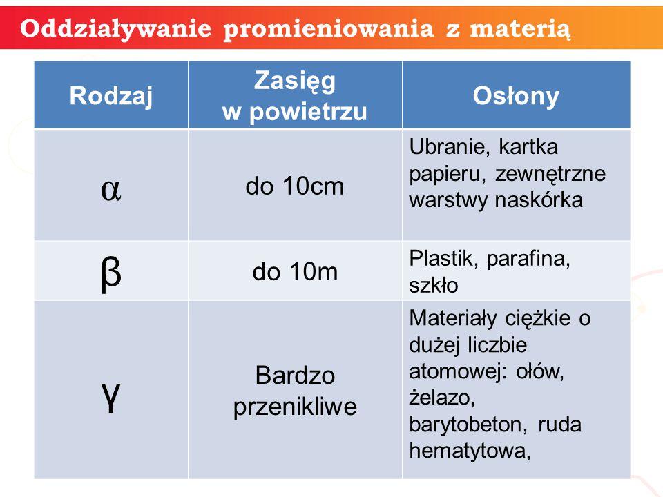 Dawka pochłoniętej energii - jest to stosunek ilości pochłoniętej energii przez daną masę ciała, do masy tego ciała: D = E/m gdzie: D – dawka promieniowania (grej Gy lub rad, 1 rad = 0,01 J/kg = 0,01 Gy) E – pochłonięta energia (J), m – masa ciała pochłaniającego energię (kg).