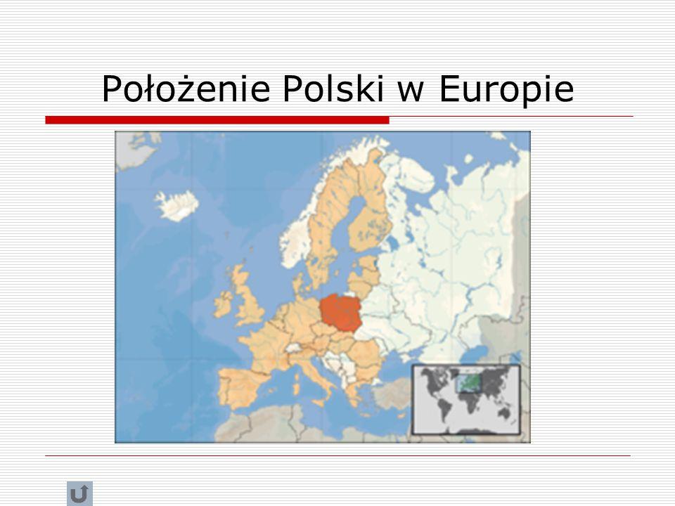 Położenie Polski w Europie