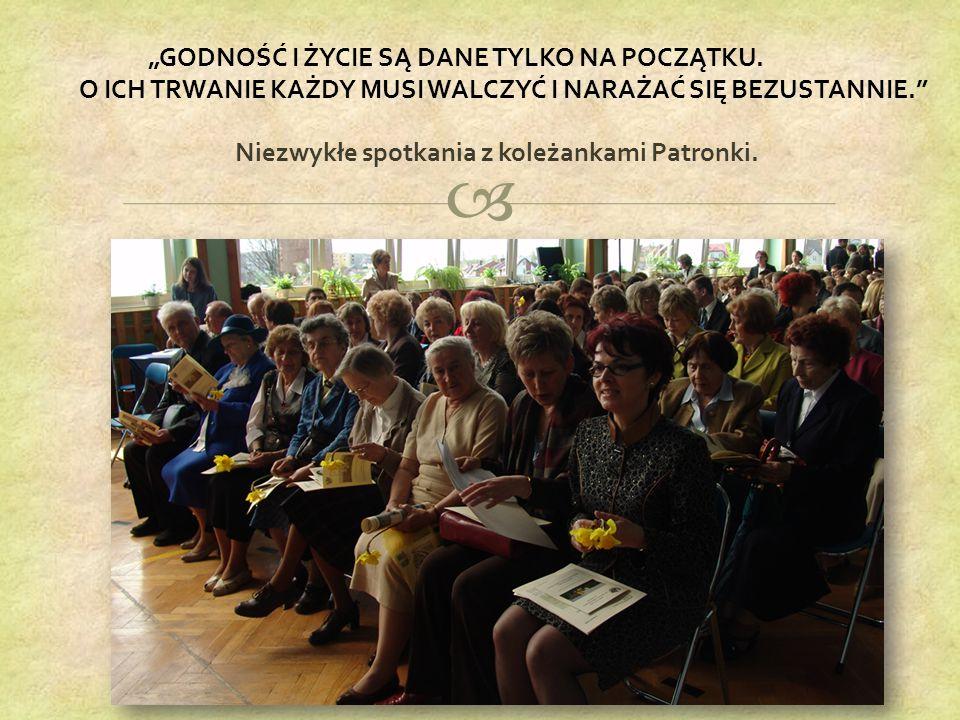 """ """"GODNOŚĆ I ŻYCIE SĄ DANE TYLKO NA POCZĄTKU."""