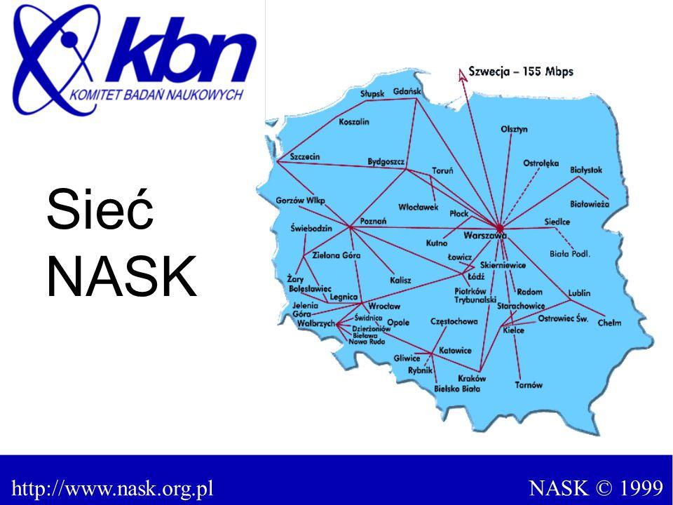 NASK © 1999http://www.nask.org.pl Sieć NASK