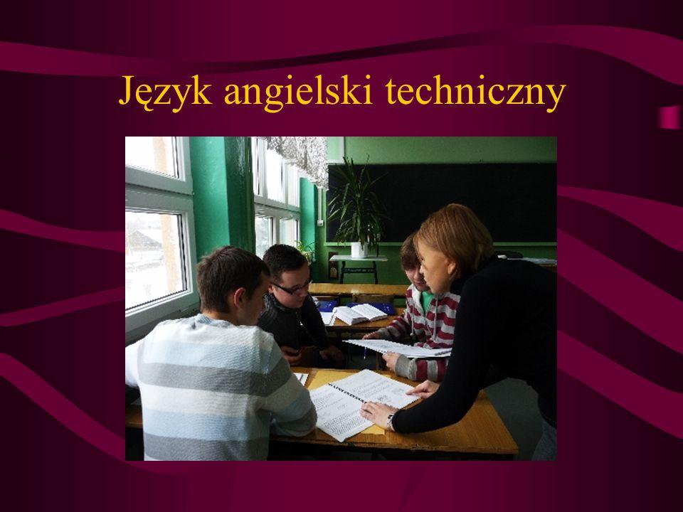 Język angielski techniczny