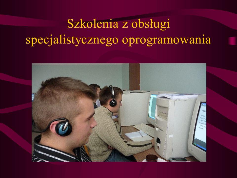 Szkolenia z obsługi specjalistycznego oprogramowania