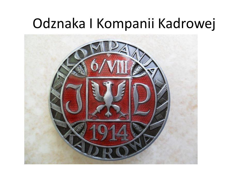 Odznaka I Kompanii Kadrowej