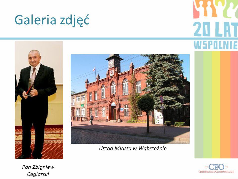 Galeria zdjęć Urząd Miasta w Wąbrzeźnie Pan Zbigniew Ceglarski
