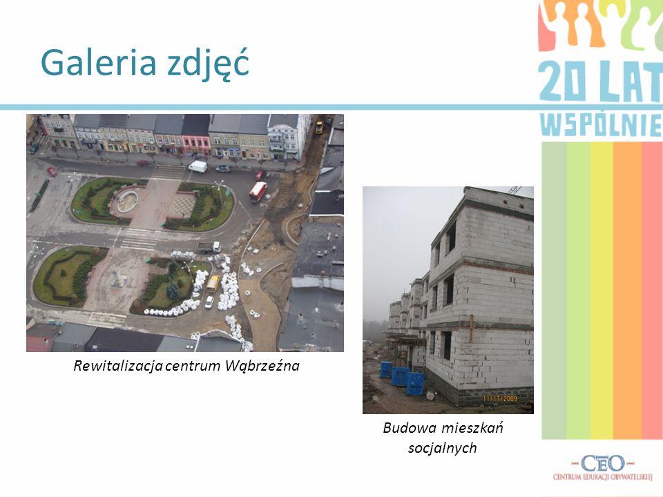 Galeria zdjęć Rewitalizacja centrum Wąbrzeźna Budowa mieszkań socjalnych