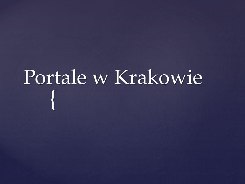 { Portale w Krakowie