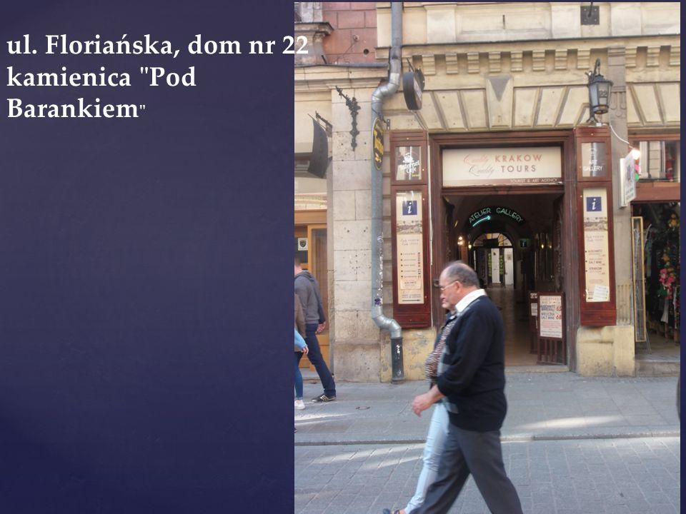 ul. Floriańska, dom nr 22 kamienica