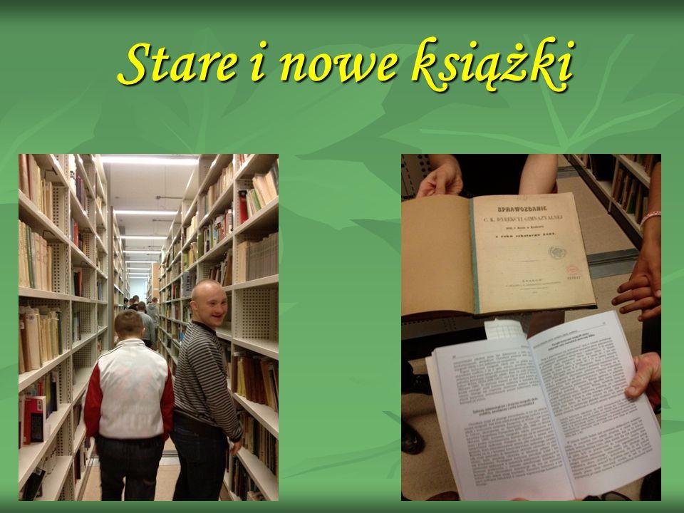 Stare i nowe książki