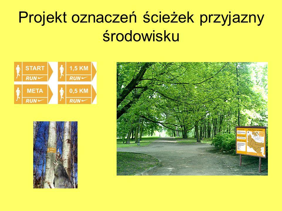 Projekt oznaczeń ścieżek przyjazny środowisku