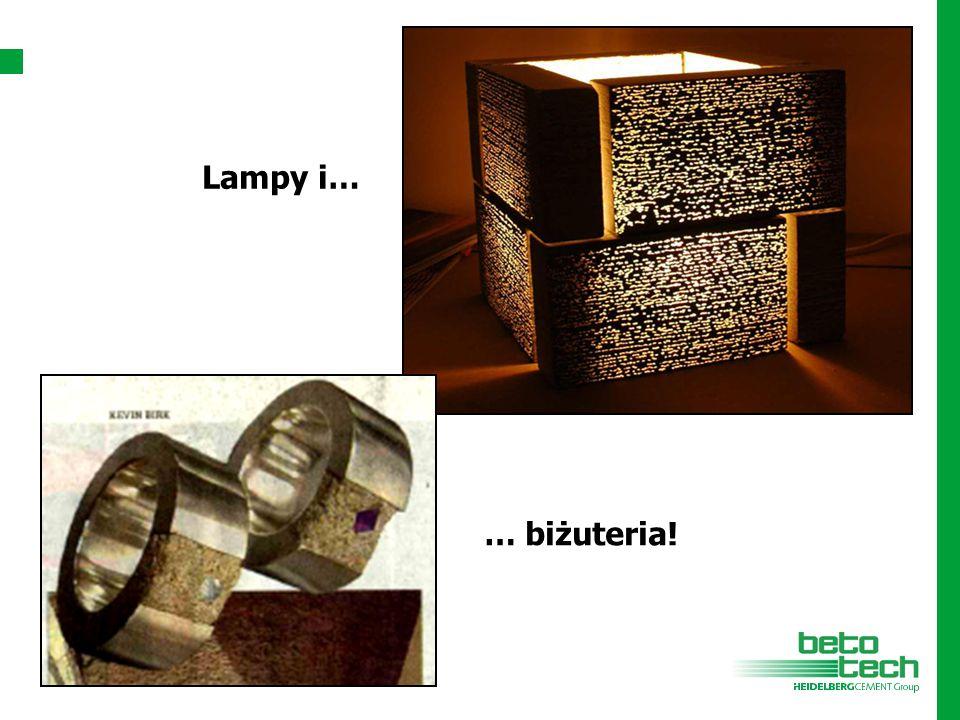 … biżuteria! Lampy i…