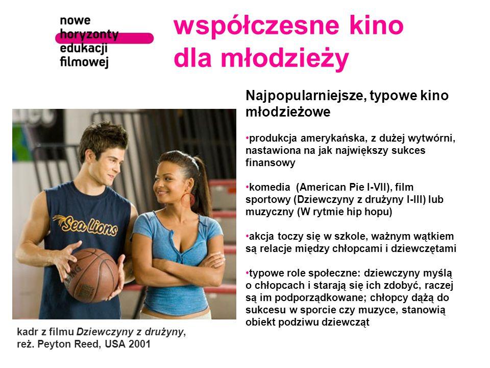 współczesne kino dla młodzieży kadr z filmu Dziewczyny z drużyny, reż.