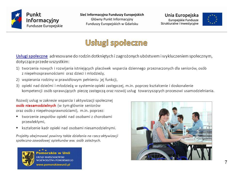 18 EFRR: 4,16 mln € Cel szczegółowy: Poprawa zdolności do współpracy lokalnych podmiotów działających na obszarze Południowego Bałtyku poprzez udział w sieciach transgranicznych.