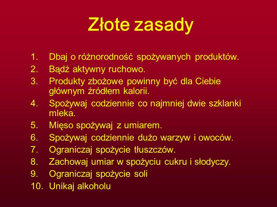 Źródła:  www.izz.waw.pl www.izz.waw.pl  www.trzymajforme.pl www.trzymajforme.pl  www.hsph.harvard.edu/nutritionsource/ www.hsph.harvard.edu/nutritionsource/  I inne...