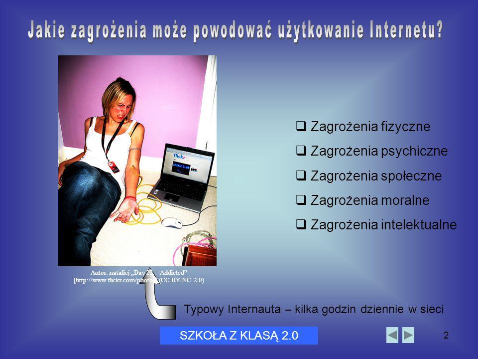 Dni Bezpiecznego Internetu 20052  Zagrożenia fizyczne  Zagrożenia psychiczne  Zagrożenia społeczne  Zagrożenia moralne  Zagrożenia intelektualne