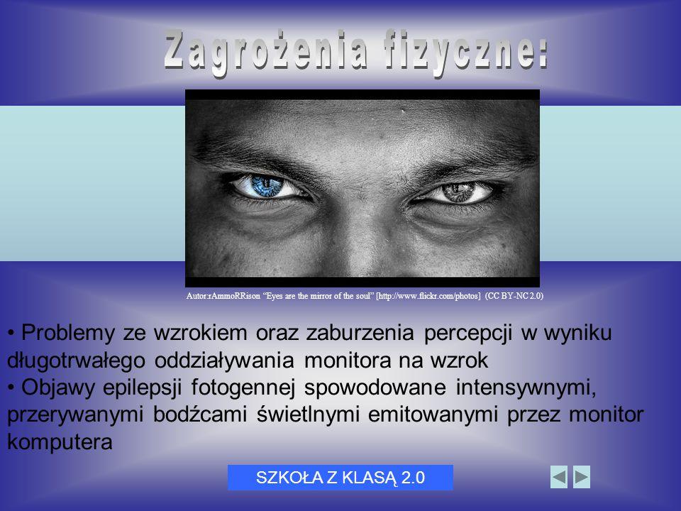 Dni Bezpiecznego Internetu 20053 Problemy ze wzrokiem oraz zaburzenia percepcji w wyniku długotrwałego oddziaływania monitora na wzrok Objawy epilepsj