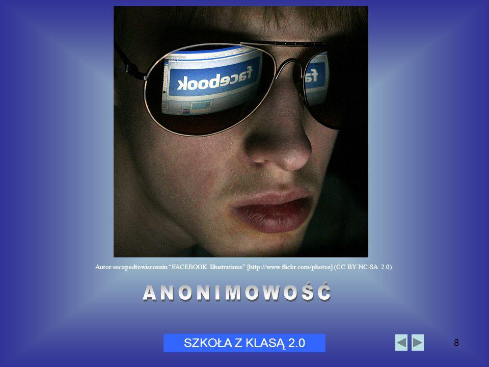 """Dni Bezpiecznego Internetu 20058 SZKOŁA Z KLASĄ 2.0 Autor:escapedtowisconsin """"FACEBOOK Illustrations"""" [http://www.flickr.com/photos] (CC BY-NC-SA 2.0)"""