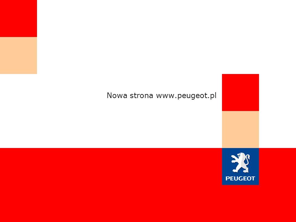 Nowa strona www.peugeot.pl