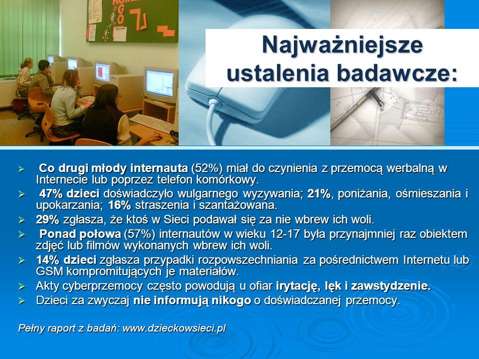 Cyberprzemoc– z doświadczeń Helpline.org.pl