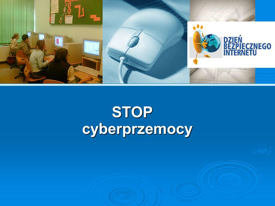 Rozwój cyberprzemocy  Wraz z rozwojem mediów elektronicznych oraz wzrostem ich popularności obserwujemy wśród dzieci i młodzieży wrastającą skalę tzw.