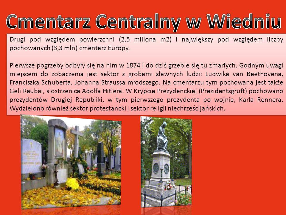 Drugi pod względem powierzchni (2,5 miliona m2) i największy pod względem liczby pochowanych (3,3 mln) cmentarz Europy. Pierwsze pogrzeby odbyły się n