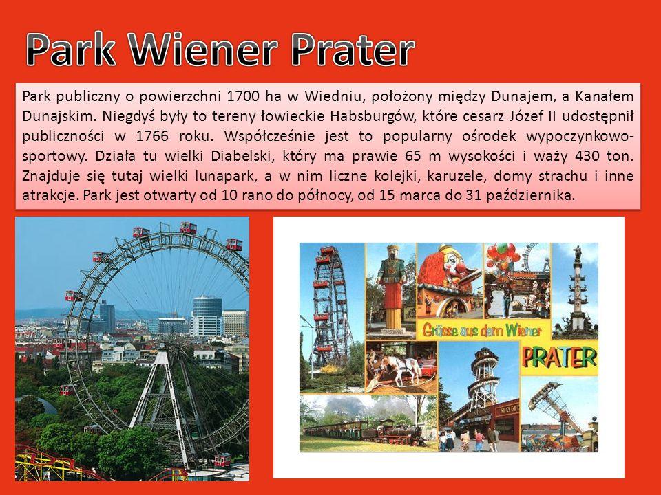 Park publiczny o powierzchni 1700 ha w Wiedniu, położony między Dunajem, a Kanałem Dunajskim. Niegdyś były to tereny łowieckie Habsburgów, które cesar