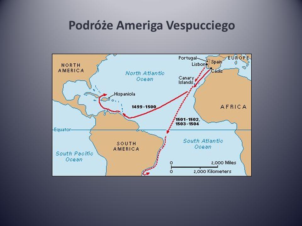 Podróże Ameriga Vespucciego