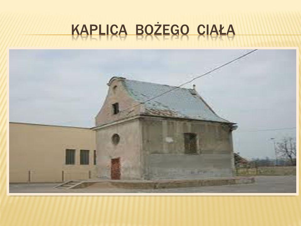"""""""Nasza kapliczka za czasów dawnego miasta.''"""