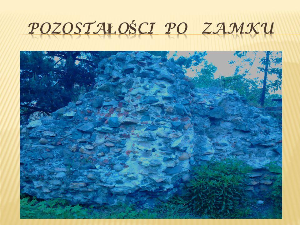 Od tej pory zamek pozostawał w ruinie aż do XVIII w.