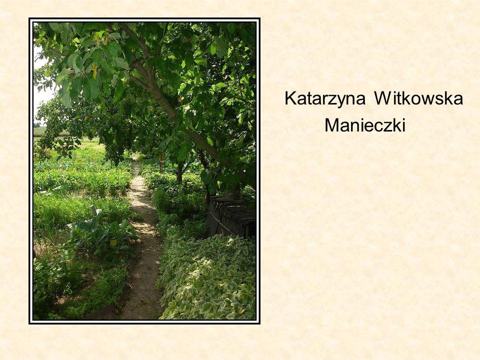 Katarzyna Witkowska Manieczki