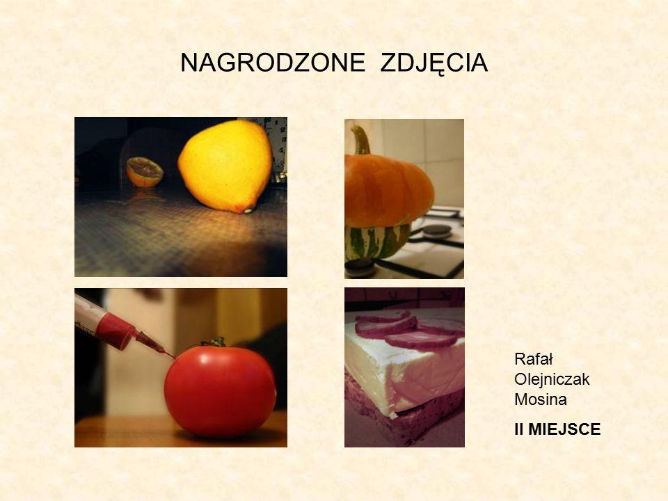 NAGRODZONE ZDJĘCIA Rafał Olejniczak Mosina II MIEJSCE