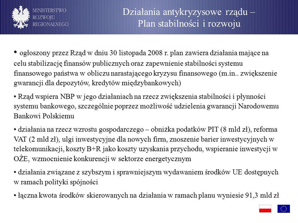 ogłoszony przez Rząd w dniu 30 listopada 2008 r.
