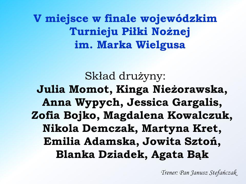 V miejsce w finale wojewódzkim Turnieju Piłki Nożnej im.