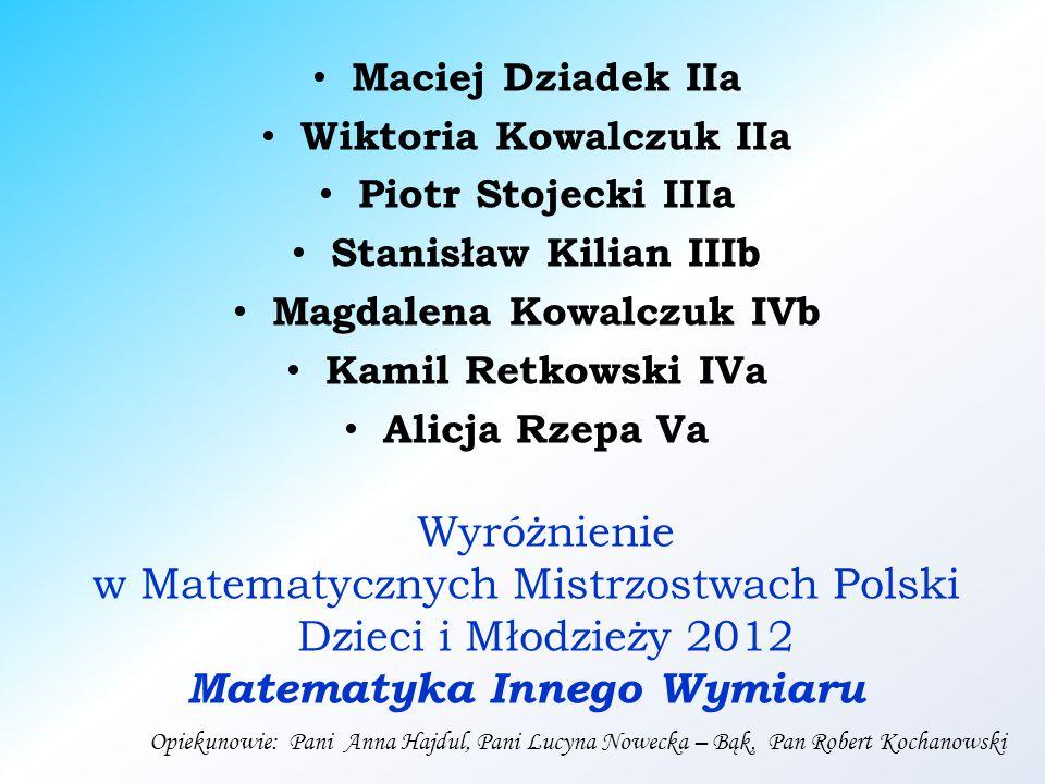 Dziękujemy za uwagę Przygotowała: Alicja Kuczyńska – Kozar Szkoła Podstawowa im.