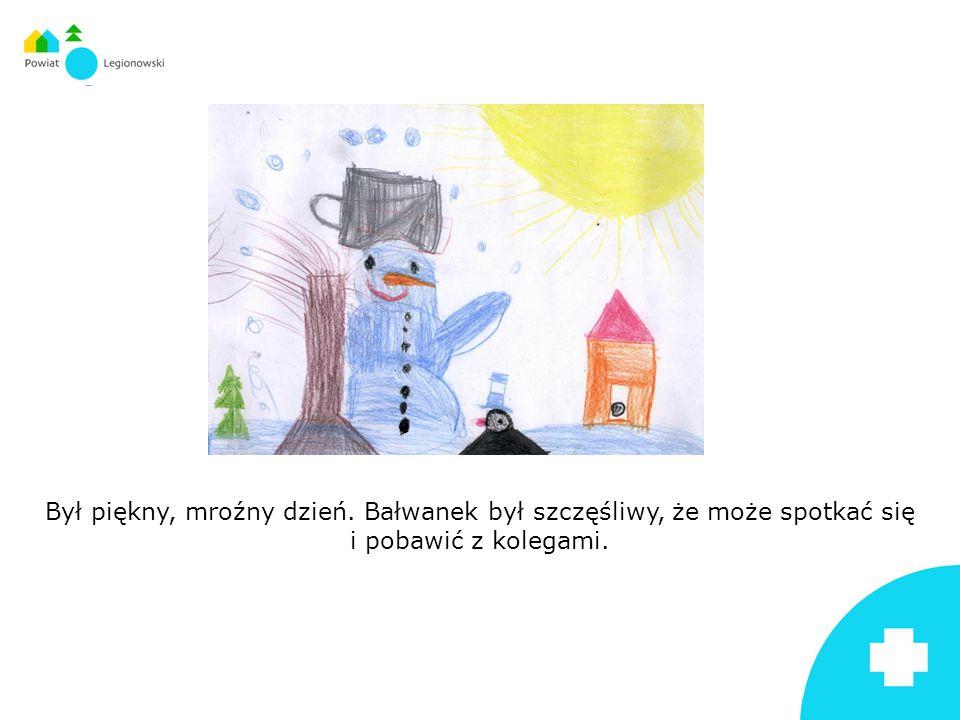 Szczególnie chciał się bawić ze swoim przyjacielem kretem Maćkiem, z kolegą Kacprem, który go ulepił oraz z Julką, która przyniosła dla niego nos z marchewki.