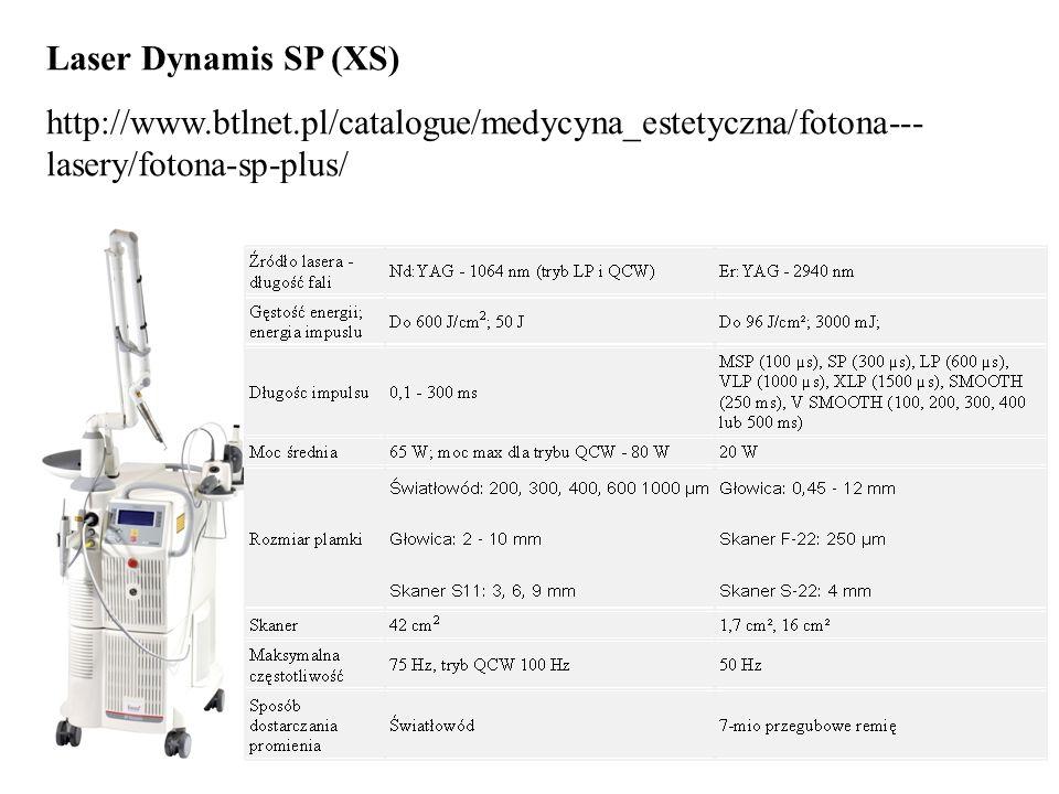 27 Laser Dynamis SP (XS) http://www.btlnet.pl/catalogue/medycyna_estetyczna/fotona--- lasery/fotona-sp-plus/