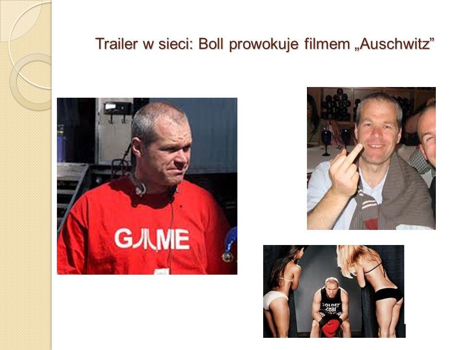 """Trailer w sieci: Boll prowokuje filmem """"Auschwitz"""""""