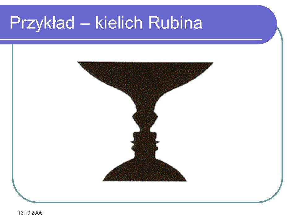 13.10.2006 Przykład – kielich Rubina