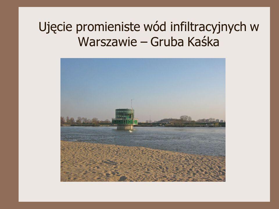 Ujęcie promieniste wód infiltracyjnych w Warszawie – Gruba Kaśka