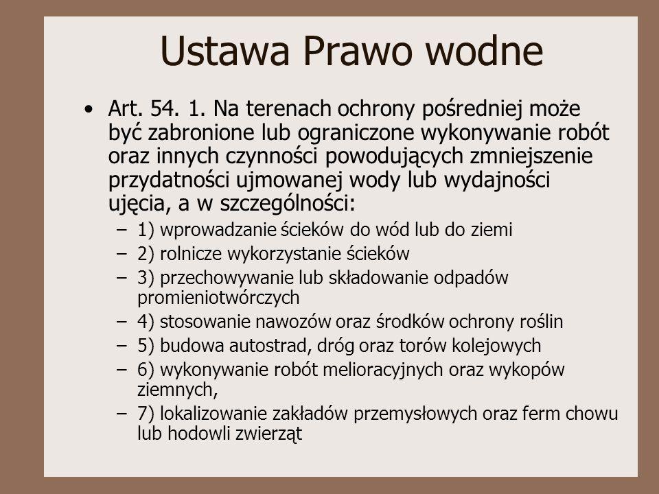 Ustawa Prawo wodne Art.54. 1.